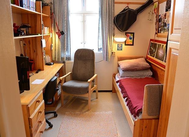 Norwegian prison room